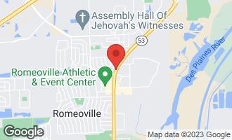 Map of SEC 75th & Route 53 Street Woodridge, IL 60540