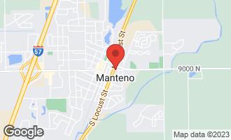 Map of Sec32 T32n,r12e MANTENO, IL 60950