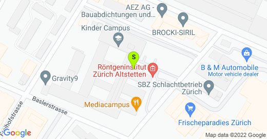 Office Address: Baslerstrasse 30, 8048 Zürich