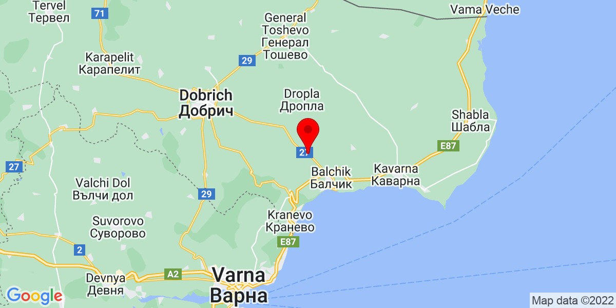 Google Map of sokolovo bulgaria
