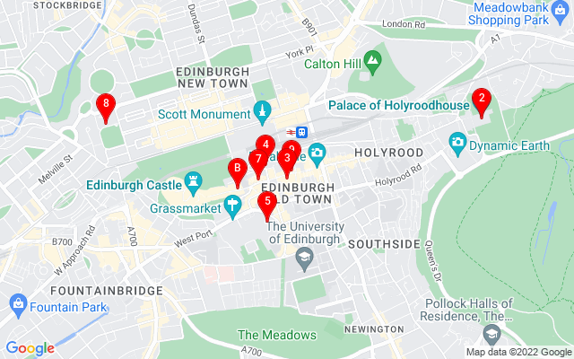 Google Map of st giles cathedral