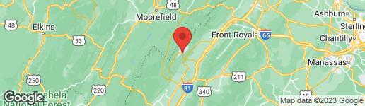 Map of SUPINLICK RIDGE MOUNT JACKSON, VA 22842
