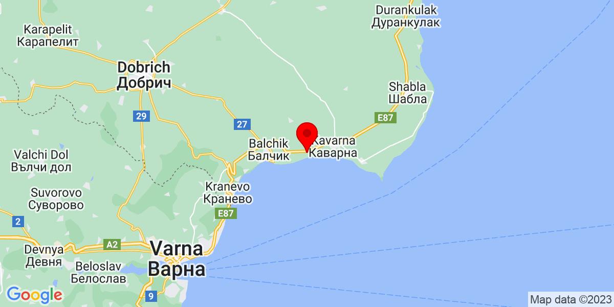 Google Map of topola kavarna