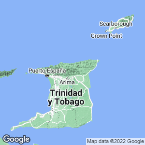 Trinidad y Tobago Map
