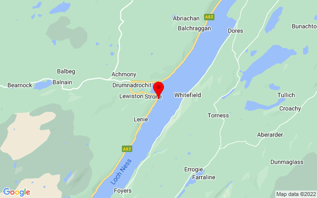 Google Map of urquhart castle