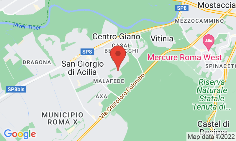 Orti del Tetto su google maps