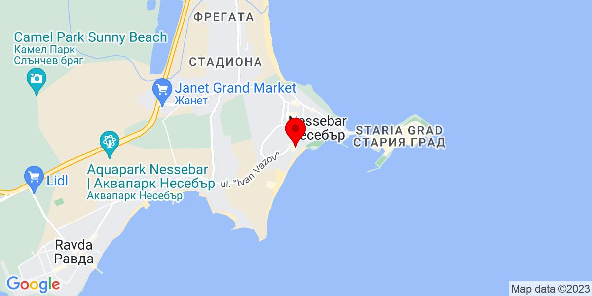 Google Map of vigo beach nessebar