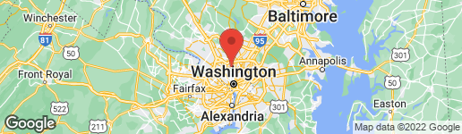 Map of WASHINGTON AVENUE CHEVY CHASE, MD 20815