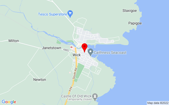 Google Map of wick heritage centre