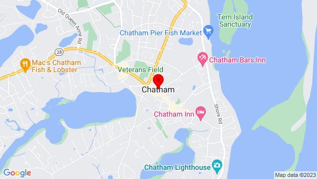 Google Map of www.capecodcreativearts.org, Chatham, MA