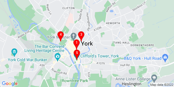 Google Map of york england