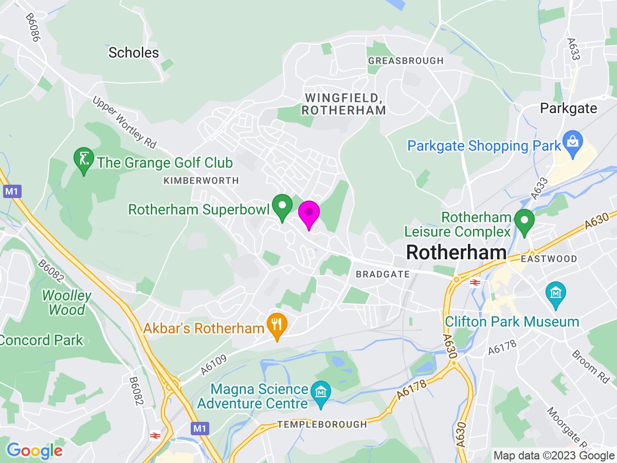 Google Map of Yorkshire Rose Florist