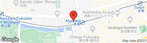カフェ・ベローチェ 福岡赤坂店 - 地図