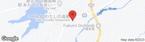 うどんや わたしの道楽 - 地図