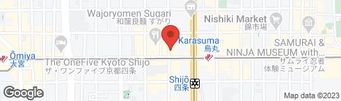 京都 焼き鳥 一 - 地図