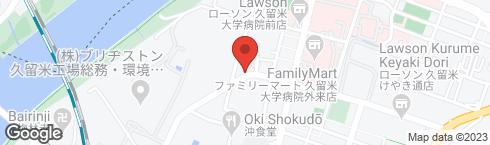 あだち珈琲 久留米店 - 地図