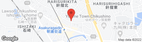 ecore福岡 朝倉カフェ - 地図
