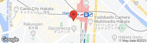 おぼんdeごはん KITTE博多店 - 地図