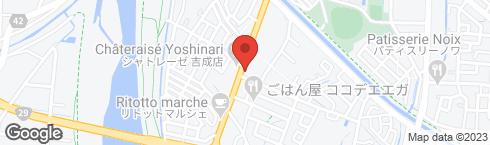 炭火焼肉 炭蔵 吉成店 - 地図