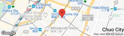 銀座メゾン アンリ・シャルパンティエ - 地図