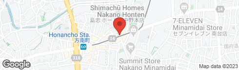 スシロー 方南町店 - 地図