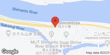 四万十屋 - 地図