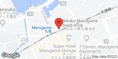 骨付鳥 一鶴 丸亀本店 - 地図