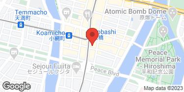 焼肉 知代 - 地図