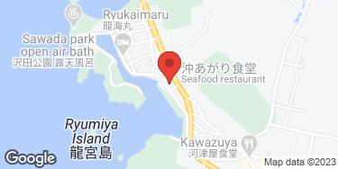 沖あがり食堂 - 地図