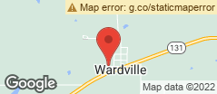 Min static map 500 D. Street Wardville, Ok 74576