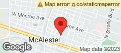 Min static map Seminole Avenue Mcalester, Ok 74501