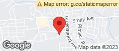 Min static map 2903 Fallstaff Road