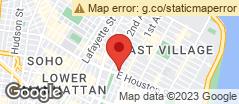 Min static map East Village
