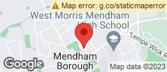 Min static map 5 Orchard St Mendham, Nj 07945