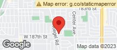 Min static map 18645 Poplar Avenue