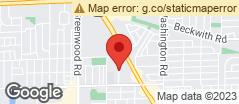 Min static map 9071 North Maryland Street