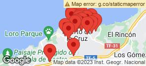 Map for Puerto De La Cruz