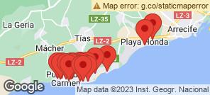 Map for Puerto Del Carmen