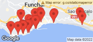 Map for Funchal