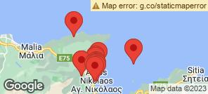 Map for Agios Nikolaos