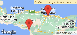 Map for Heraklion