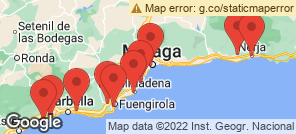 Map for Costa Del Sol