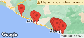 Map for Alanya