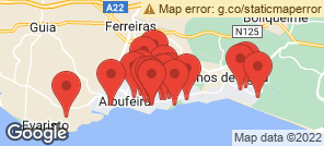 Map for Albufeira
