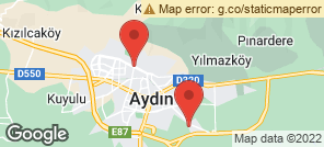 Map for Aydin