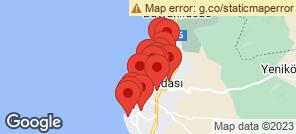 Map for Kusadasi
