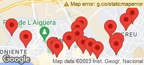 Map for Benidorm