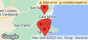 Map for Sa Coma