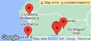 Map for Cala Galdana