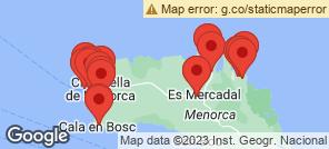 Map for Arenal d'en Castell